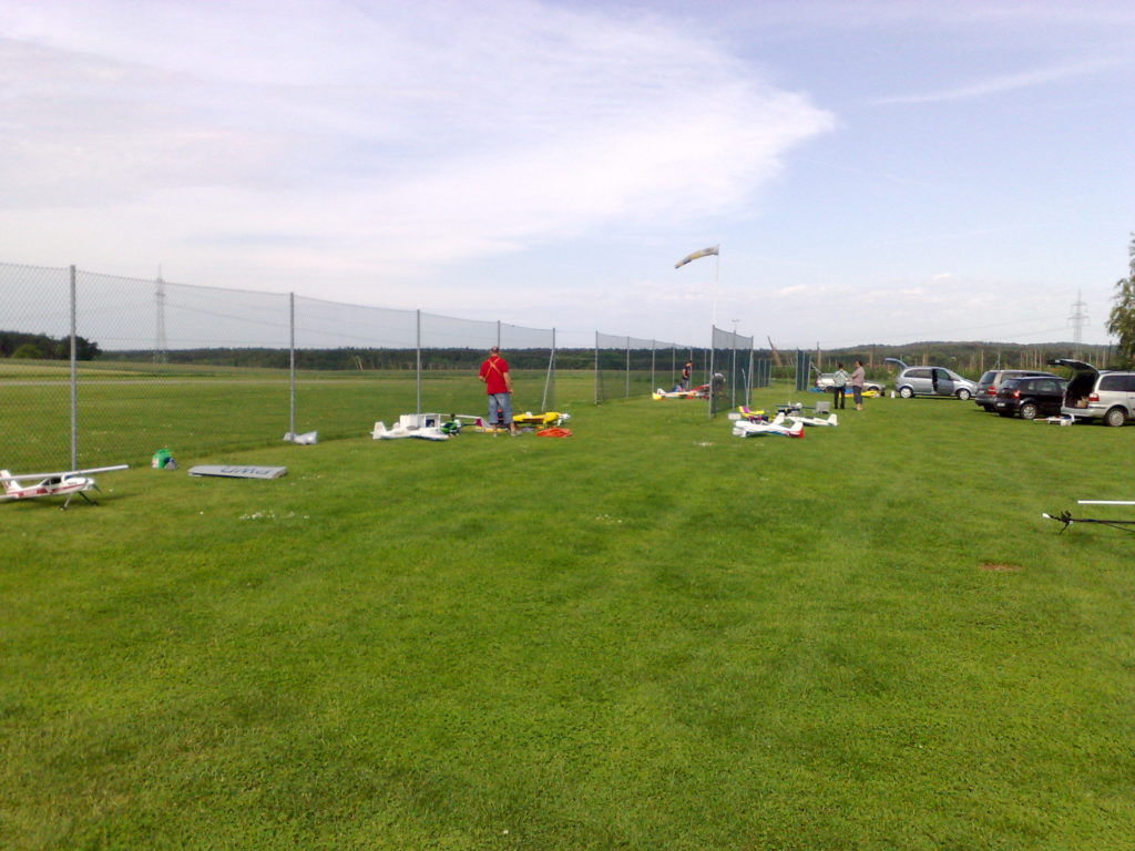 MSC Flugplatz bei Flugbetrieb